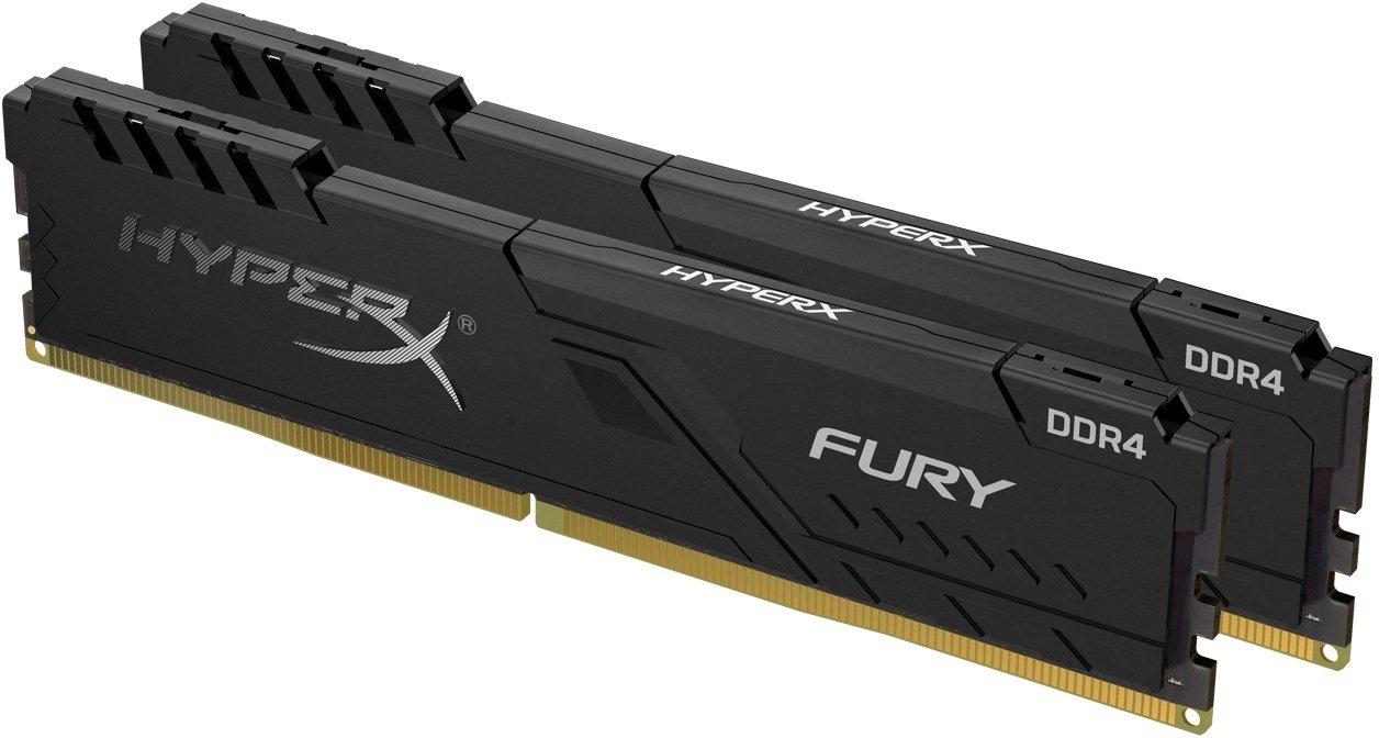 Пам'ять для ПК HyperX DDR4 3733 32GB KIT Fury Black (HX437C19FB3K2/32) фото2