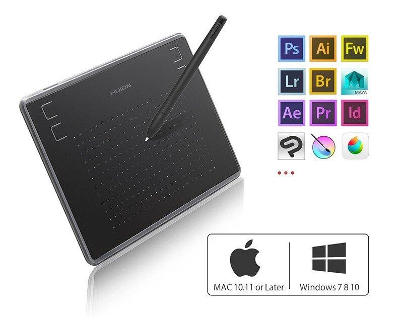 Графічний планшет Huion H430P фото