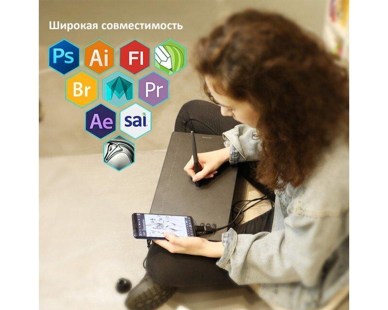 Графічний планшет Huion HS610фото