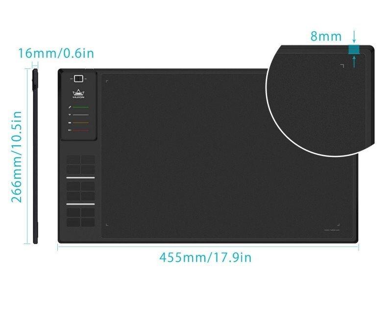 Графічний планшет Huion WH1409 V2 фото