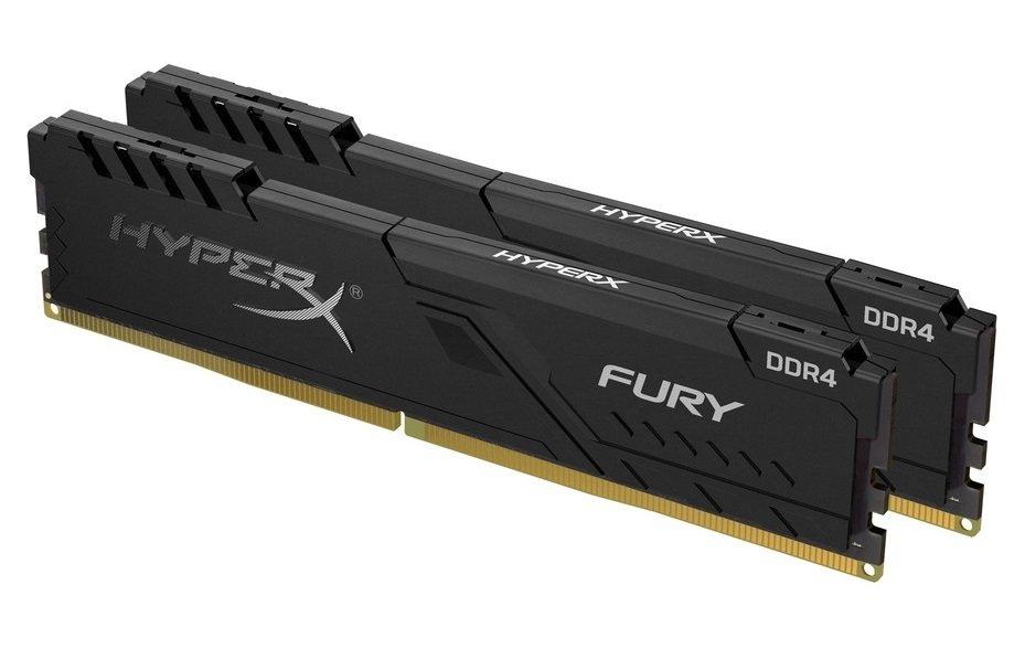 Пам'ять для ПК HyperX DDR4 3600 16GB KIT (8GBx2) Fury Black (HX436C17FB3K2/16) фото2