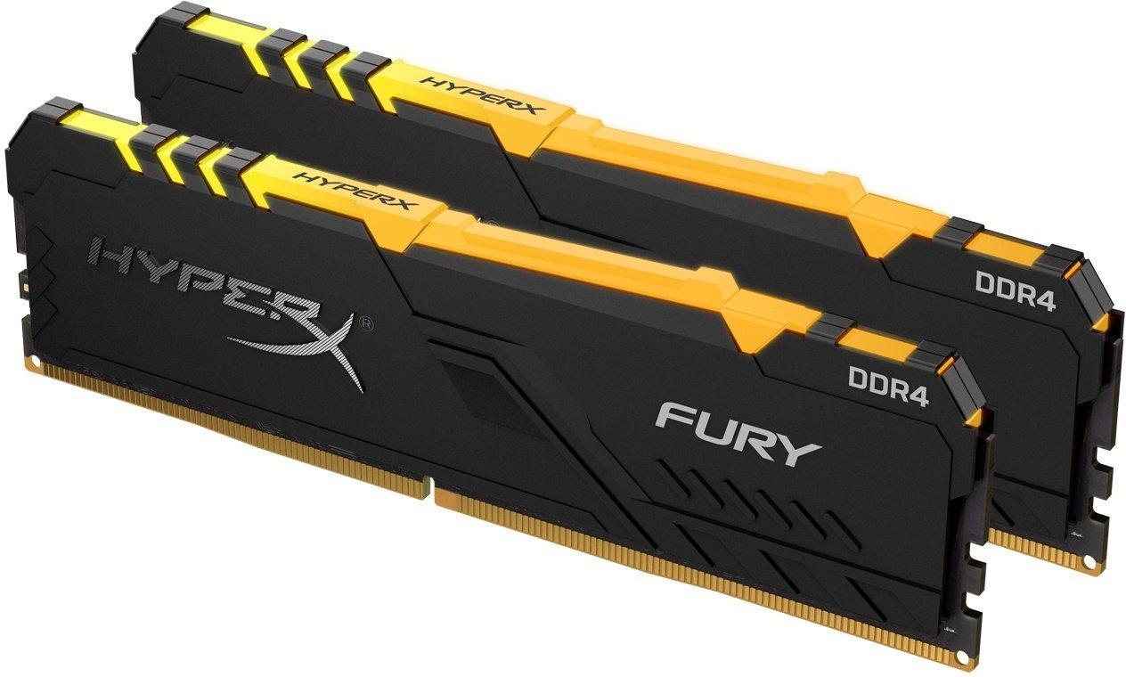 Память для ПК HyperX DDR4 3600 16GB KIT (8GBx2) Fury RGB (HX436C17FB3AK2/16) фото 2