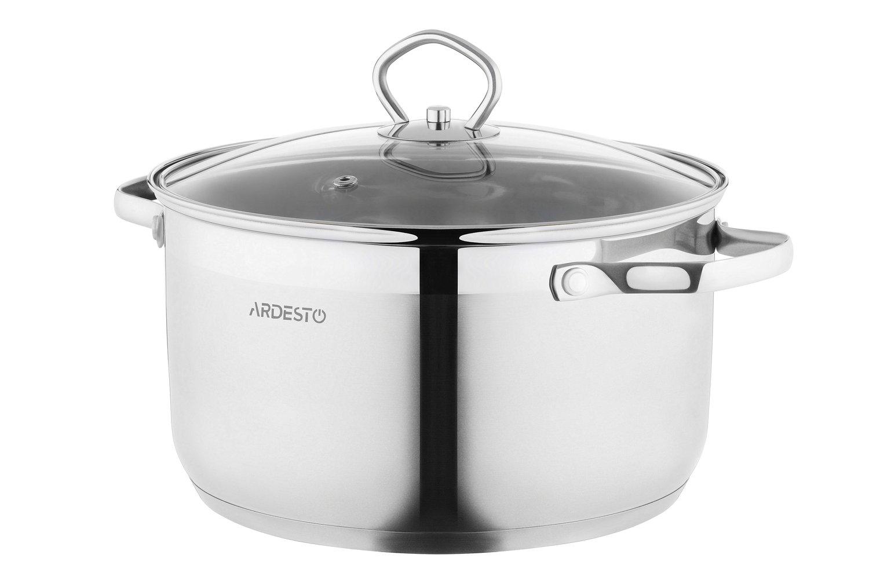 Набір посуду Ardesto Gemini, 8 предметів (AR1908GSS) фото