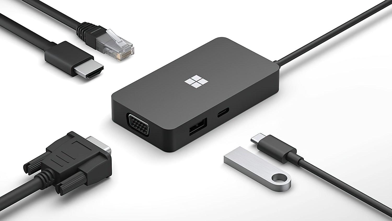 Док-станція Microsoft USB-C Travel Hub Black (SWV-00010) фото6