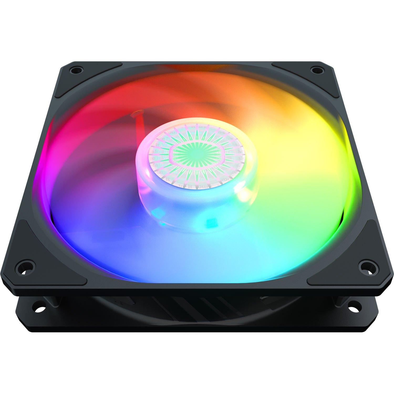 Корпусний вентилятор Cooler Master SickleFlow 120 ARGB Sync, 120мм, 650-1800об/хв, Single pack w/o HUB (MFX-B2DN-18NPA-R фото