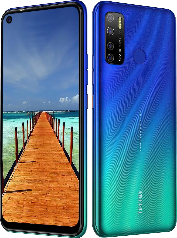 Смартфон TECNO Spark 5 Pro (KD7) 4/128Gb DS Seabed Blue фото 4
