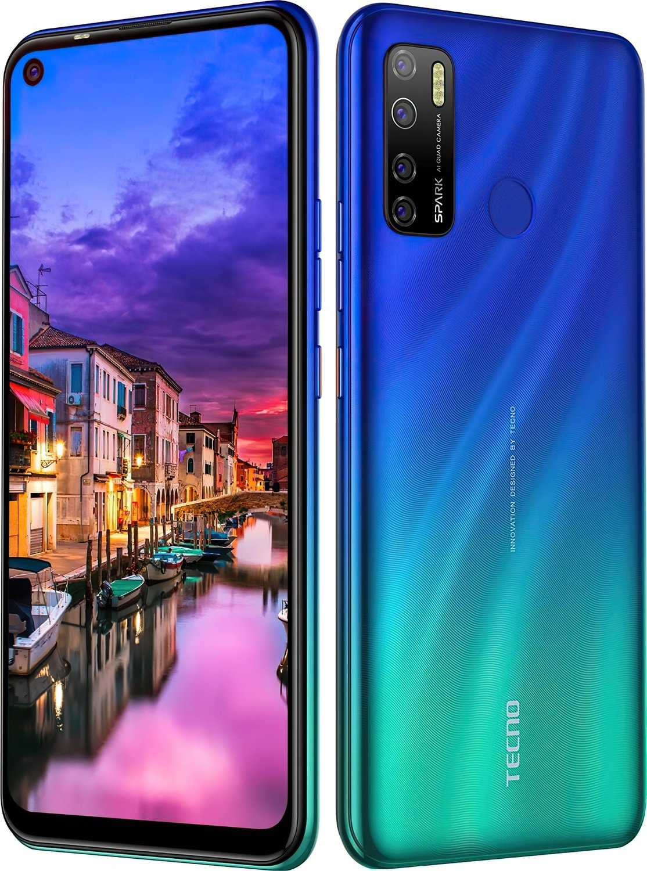 Смартфон TECNO Spark 5 Pro (KD7) 4/128Gb DS Seabed Blue фото 6