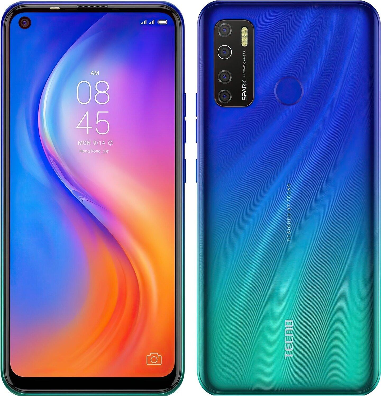 Смартфон TECNO Spark 5 Pro (KD7) 4/128Gb DS Seabed Blue фото 5