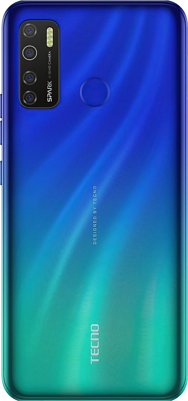 Смартфон TECNO Spark 5 Pro (KD7) 4/64Gb DS Seabed Blue фото 5