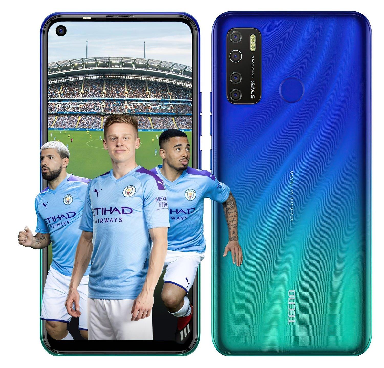 Смартфон TECNO Spark 5 Pro (KD7) 4/64Gb DS Seabed Blue фото 4