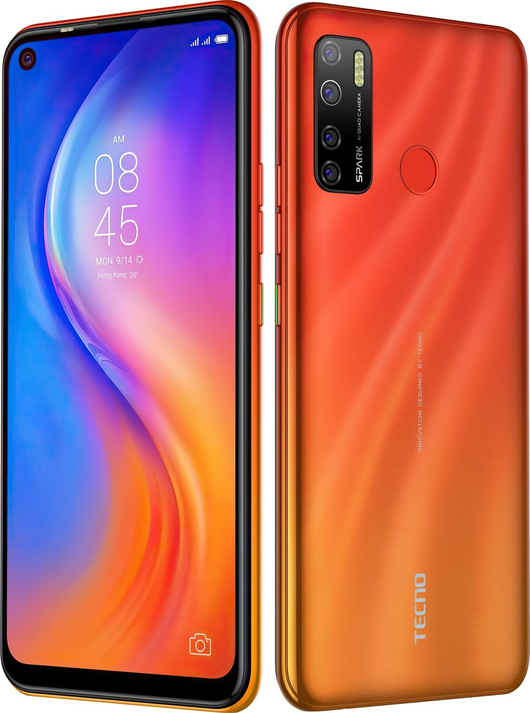 Смартфон TECNO Spark 5 Pro (KD7) 4/64Gb DS Spark Orange фото 3