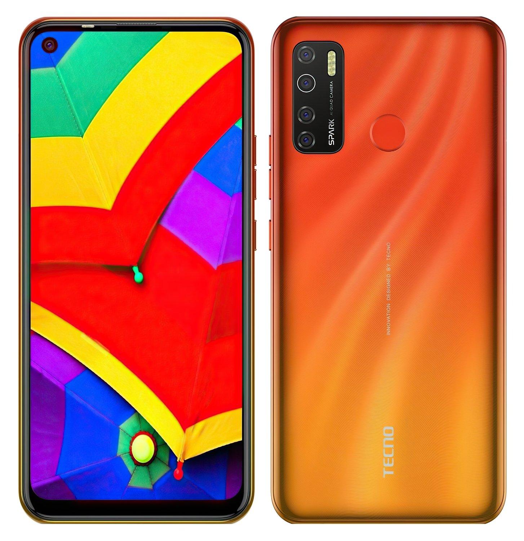 Смартфон TECNO Spark 5 Pro (KD7) 4/64Gb DS Spark Orange фото 4