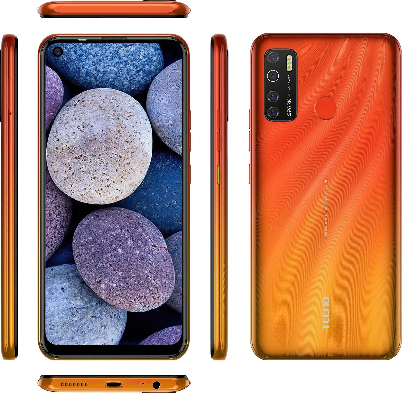 Смартфон TECNO Spark 5 Pro (KD7) 4/64Gb DS Spark Orange фото 8