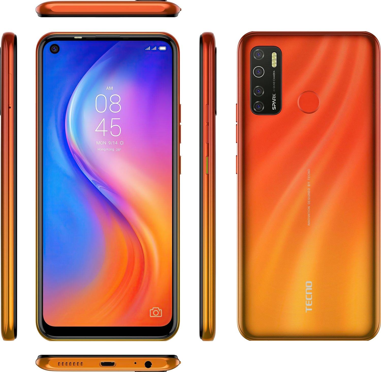 Смартфон TECNO Spark 5 Pro (KD7) 4/64Gb DS Spark Orange фото 9