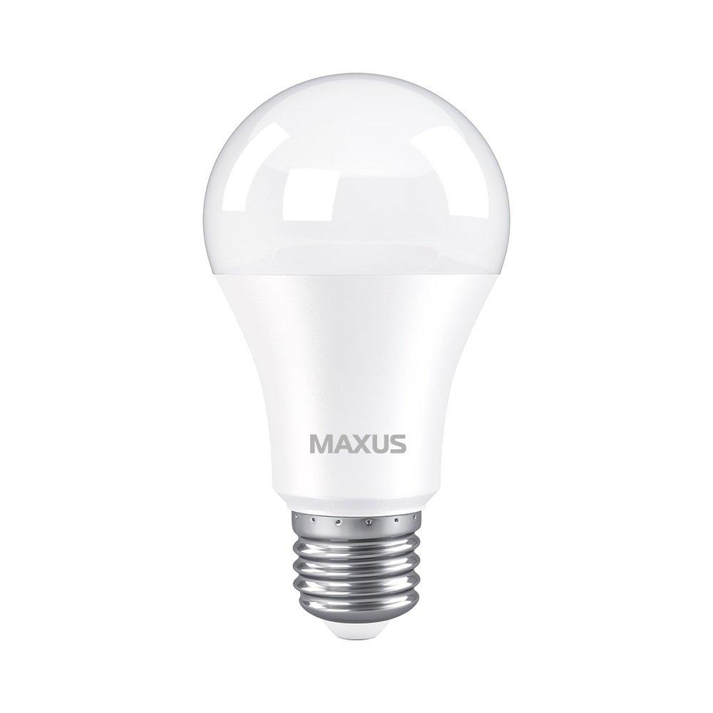 Світлодіодна лампа MAXUS A60 10W 4100K 220V E27 AL (1-LED-776)фото