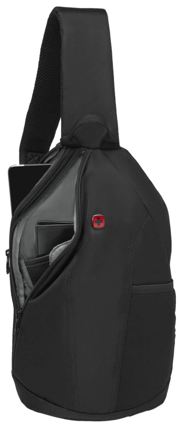 "Рюкзак-слинг Wenger BC Fun Monosling Bag 10"" Black фото"