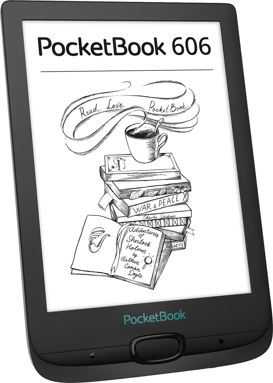 Електронна книга PocketBook 606 Blackфото2