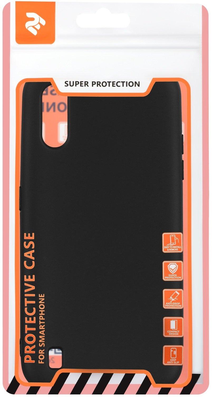 Чехол 2Е для Galaxy A01 Soft feeling Black фото 3