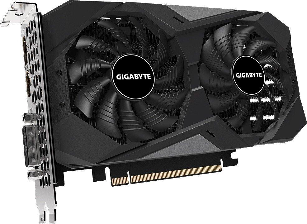 Відеокарта GIGABYTE GeForce GTX1650 4GB DDR6 128bit DP-HDMI-DVI D6 WINDFORCE OC фото3