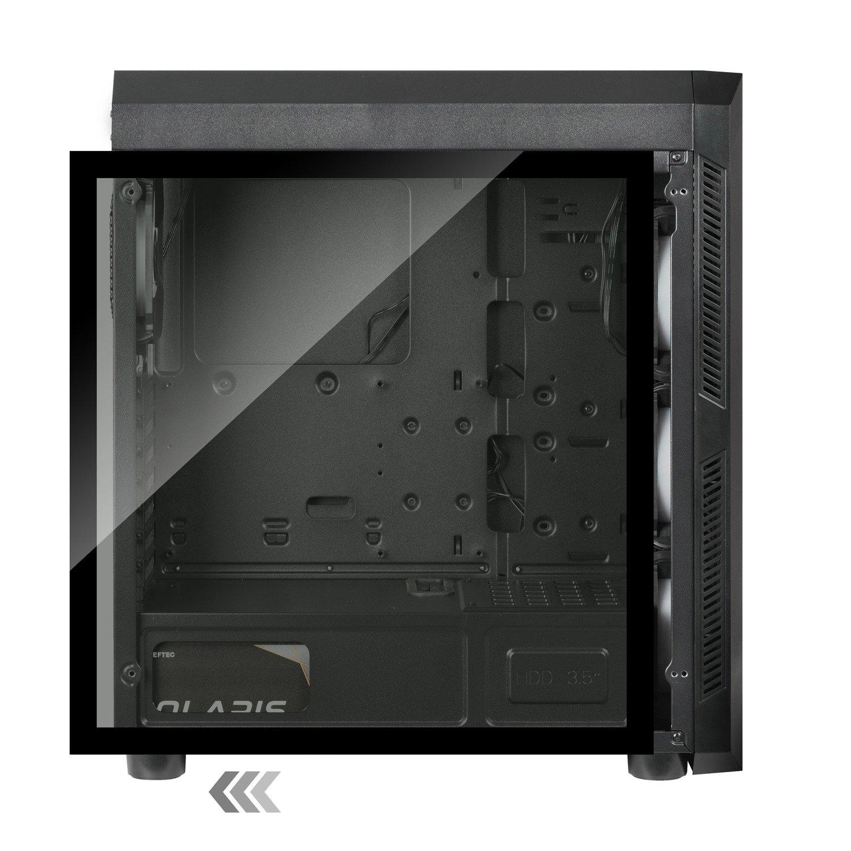 Корпус для ПК CHIEFTEC Gaming Scorpion III Tempered Glass Edition (GL-03B-OP) фото