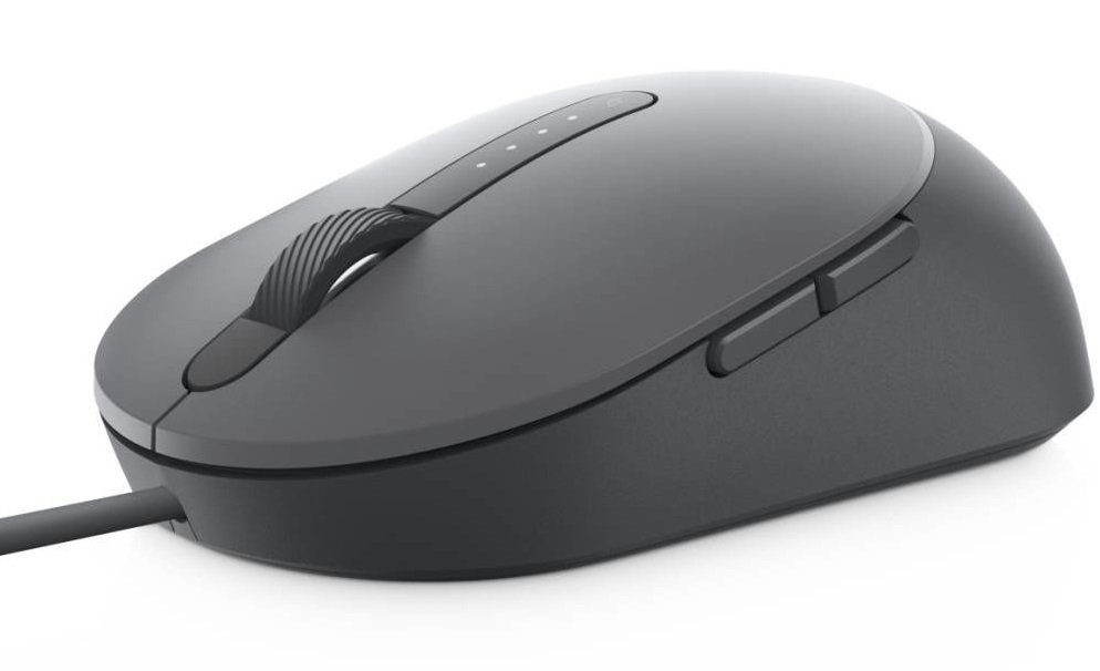 Миша Dell Laser Wired Mouse MS3220 Titan Gray (570-ABHM) фото