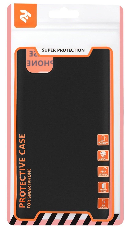 Чехол 2Е для Galaxy A31 Soft feeling Black фото 2