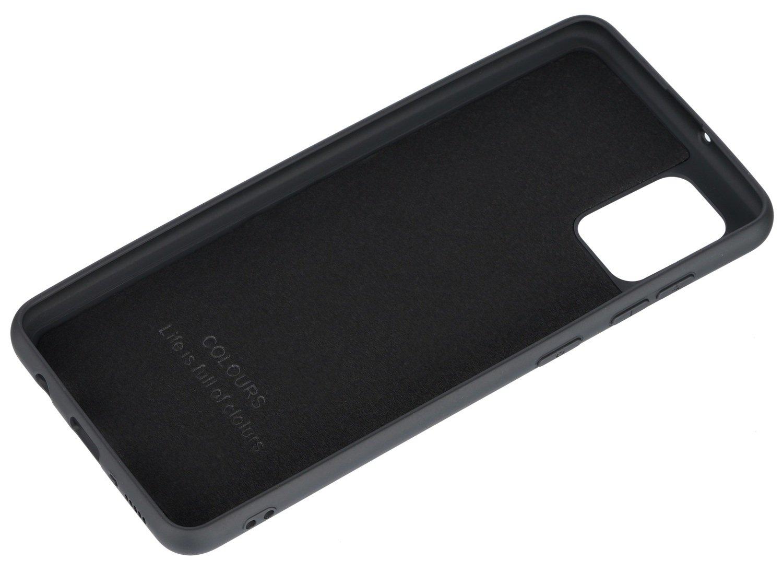Чехол 2Е для Galaxy A31 Soft feeling Black фото 3