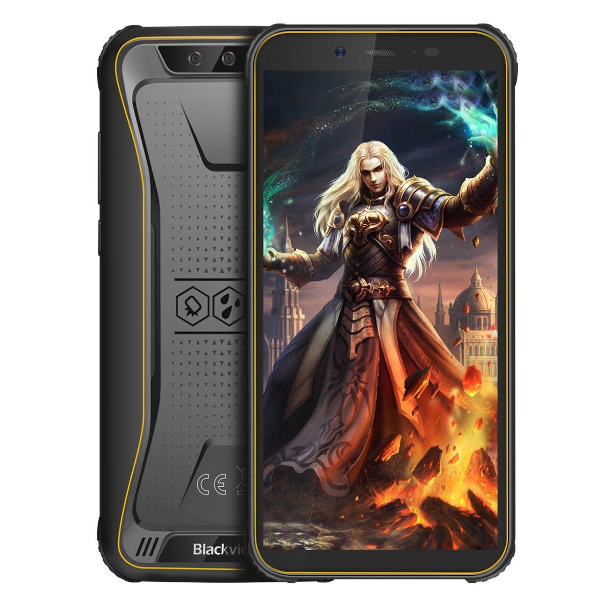 Смартфон Blackview BV5500Pro 3/16GB DS Yellow UA фото