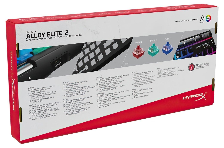 Игровая клавиатура HyperX Alloy Elite 2 (HKBE2X-1X-RU/G) фото 7