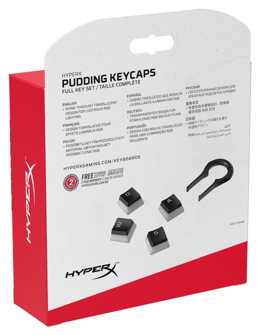 Набор колпачков для механических клавиатур HyperX Pudding Keycaps (HKCPXA-BK-RU/G) фото 7