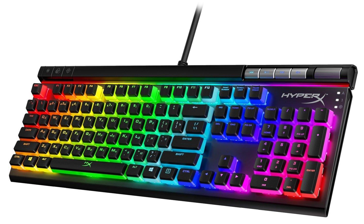 Набор колпачков для механических клавиатур HyperX Pudding Keycaps (HKCPXA-BK-RU/G) фото 3