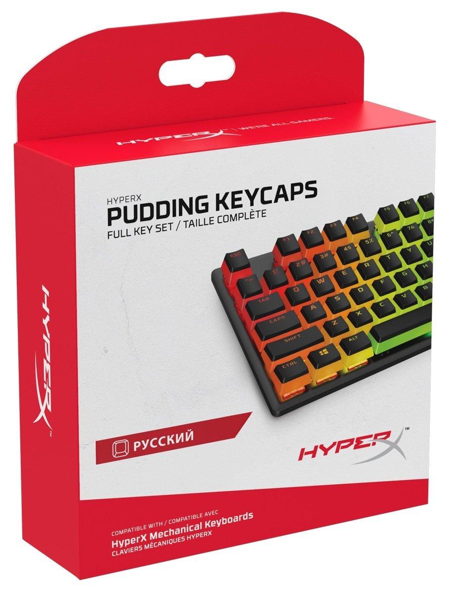 Набор колпачков для механических клавиатур HyperX Pudding Keycaps (HKCPXA-BK-RU/G) фото 6