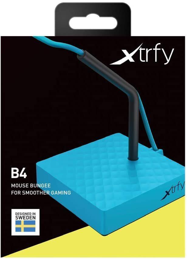Тримач для кабелю Xtrfy B4, Blue фото