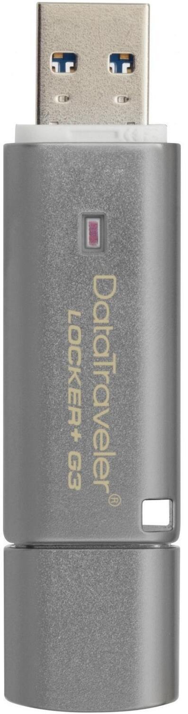 Накопитель USB 3.0 KINGSTON DT Locker+ G3 128GB (DTLPG3/128GB) фото
