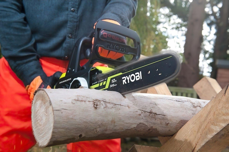 Пила ланцюгова Ryobi ONE + OCS1830 18Вт, Oregon 30см, 2.7 кг (без АКБ і ЗУ)фото