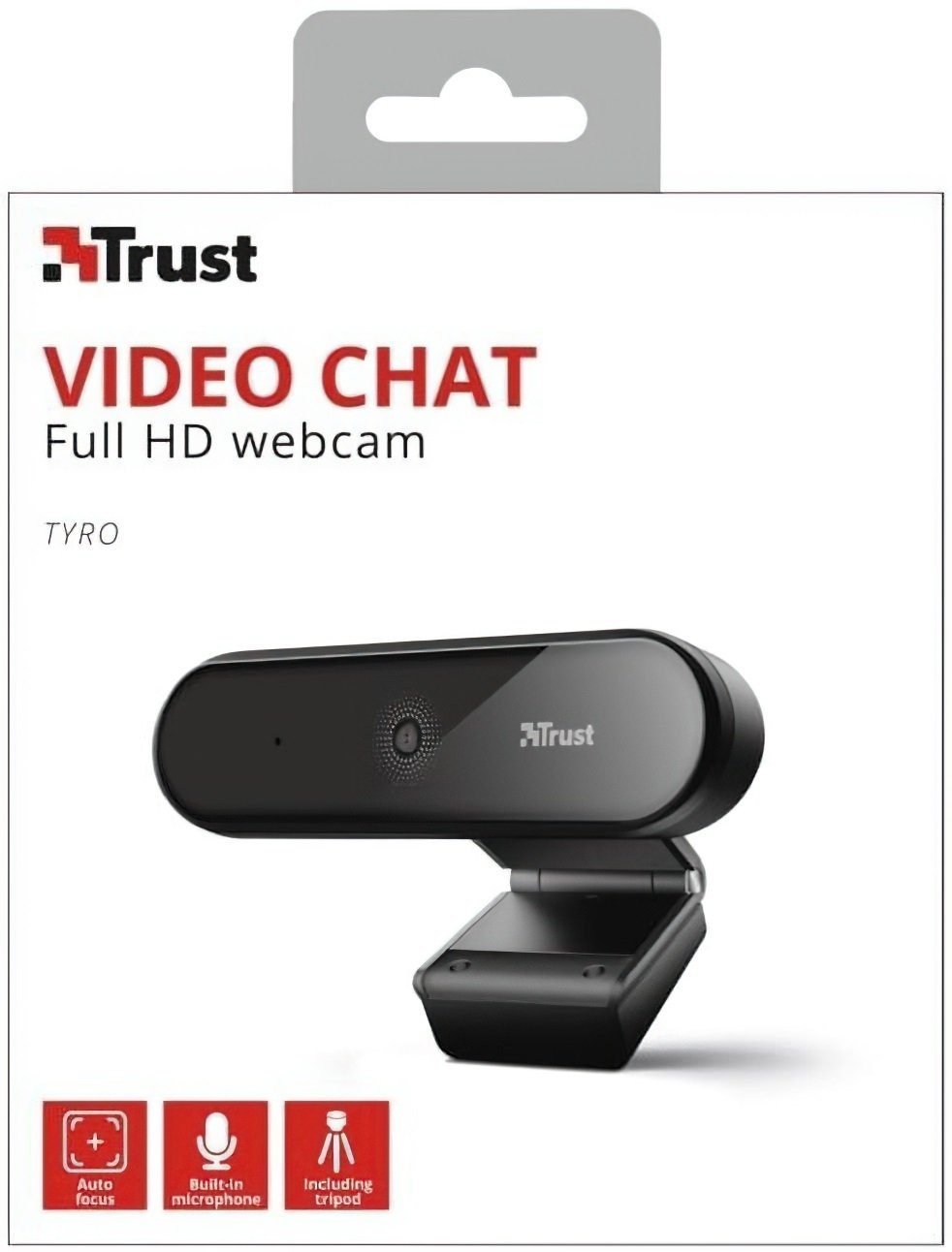 Веб-камера Trust Tyro Full HD BLACK фото