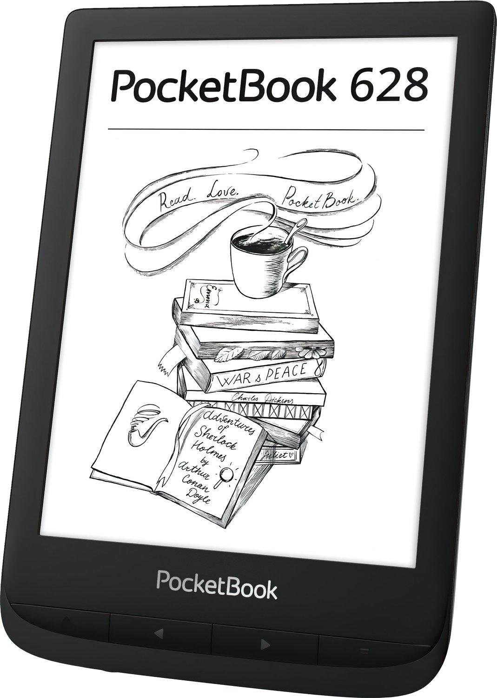 Электронная книга PocketBook 628 Ink Black фото