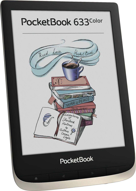 Електронна книга PocketBook 633 Color Moon Silver фото3