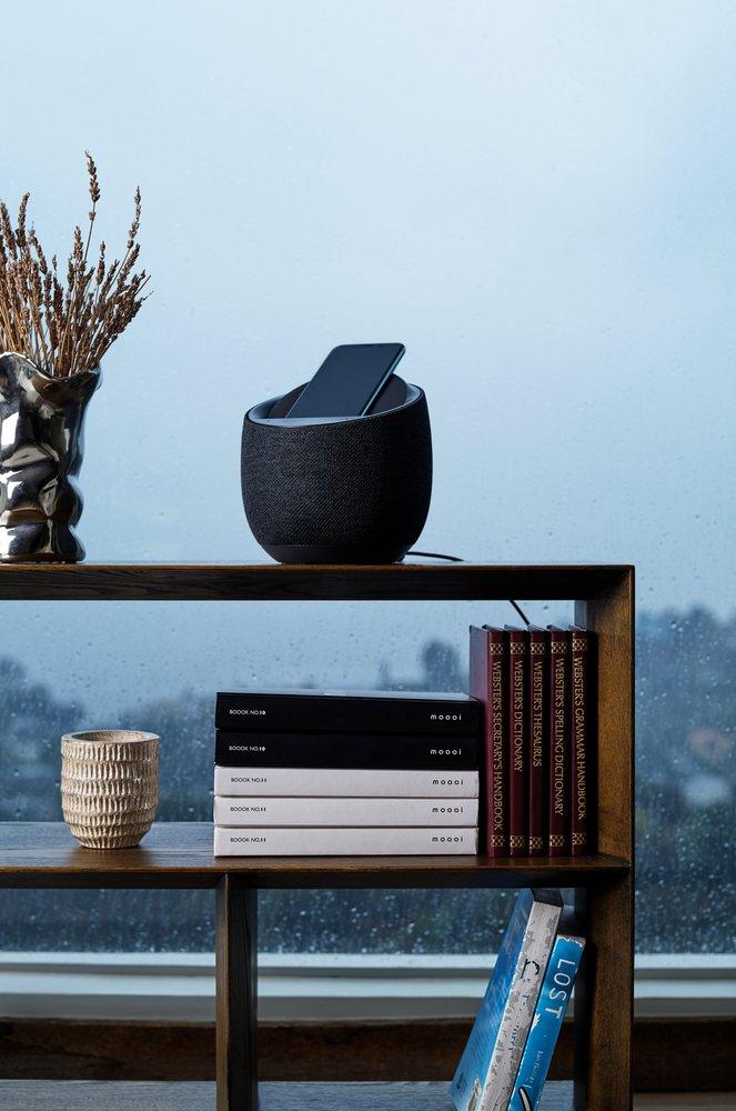 Смарт спікер Belkin+бездротова зарядка Devialet Soundform Elite, black фото