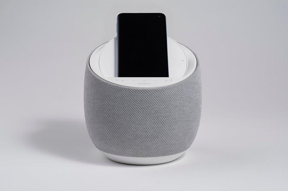 Смарт спикер Belkin + беспроводная зарядка Devialet Soundform Elite, white фото 8