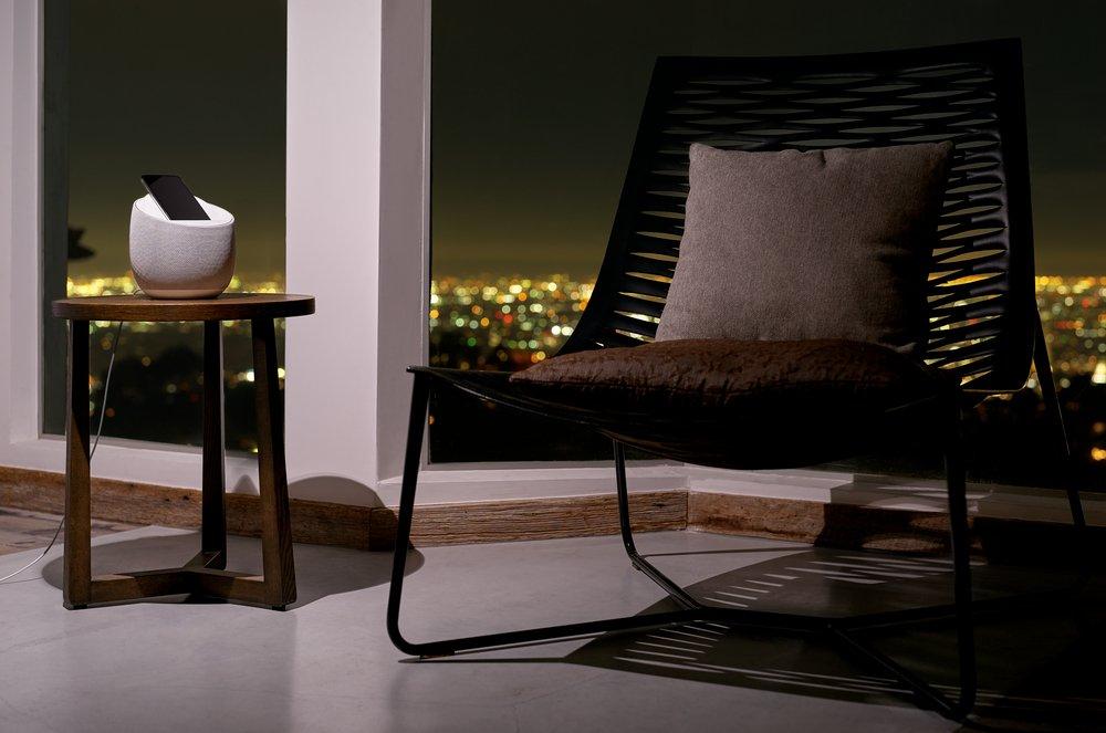Смарт спикер Belkin + беспроводная зарядка Devialet Soundform Elite, white фото 11