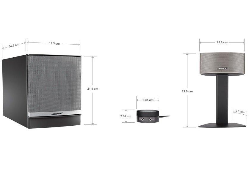Акустична система 2.1 Bose Companion 50 для ПК Silver фото4