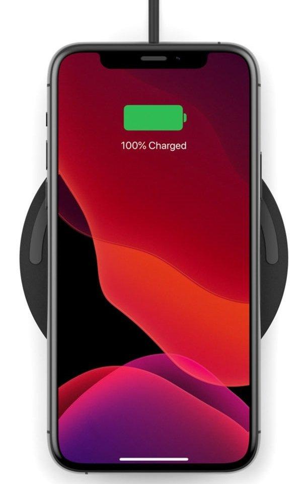 Бездротове зарядний пристрій Belkin Pad Wireless Charging Qi, 10W, black фото