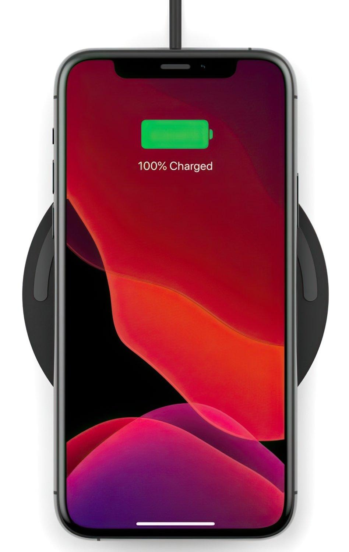 Беспроводное зарядное устройство Belkin Pad Wireless Charging Qi, 10W, no PSU, black фото 4