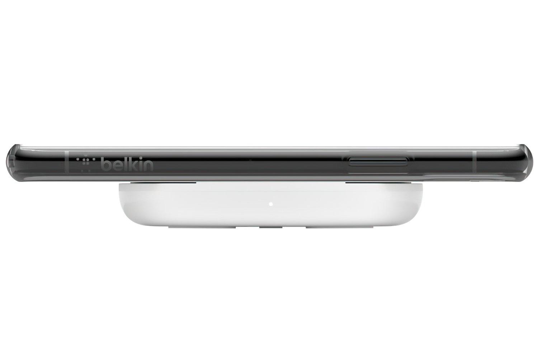 Бездротове зарядний пристрій Belkin Pad Wireless Charging Qi, 10W, no PSU, white фото4
