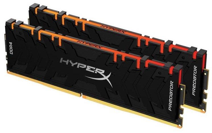 Пам'ять для ПК Kingston DDR4 4600 16GB KIT (8GBx2) XMP HyperX Predator RGB (HX446C19PB3AK2/16) фото3