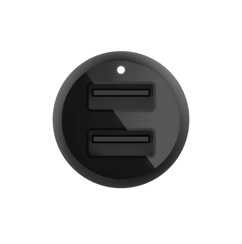 Автомобильное ЗУ Belkin Car Charger 24W Dual USB-A Black фото