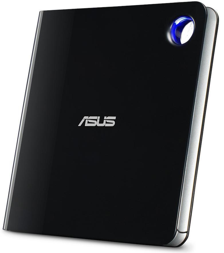 Зовнішній оптичний привід ASUS SBW-06D5H-U Blu-ray Writer USB3.1 Type-C/A EXT Ret Slim Black фото3