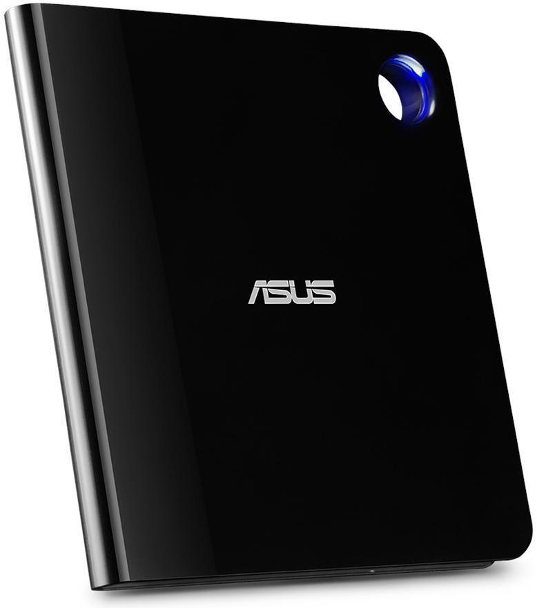 Зовнішній оптичний привід ASUS SBW-06D5H-U Blu-ray Writer USB3.1 Type-C/A EXT Ret Slim Black фото2