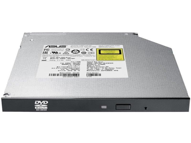 Зовнішній оптичний привід ASUS SDRW-08U1MT DVD+-R/RW USB2.0 INT Slim Silver Black фото2